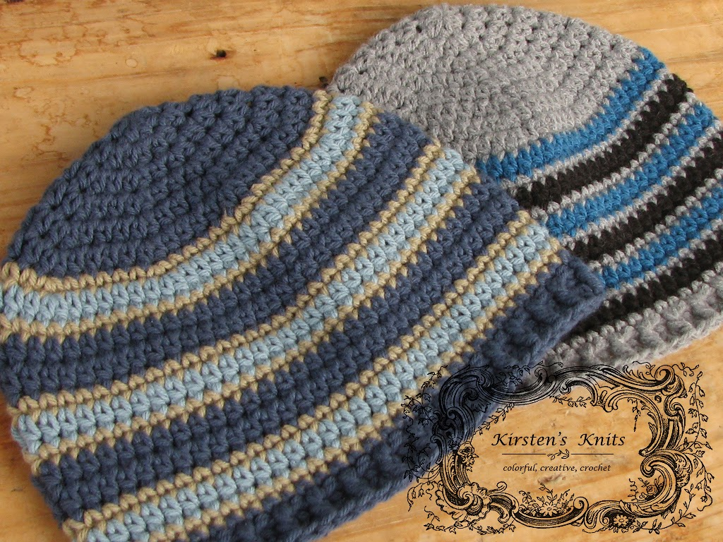 Pattern – Seeing Stripes, Men's Beanies for Charity
