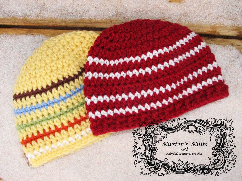 Cranberries and Cream beanie