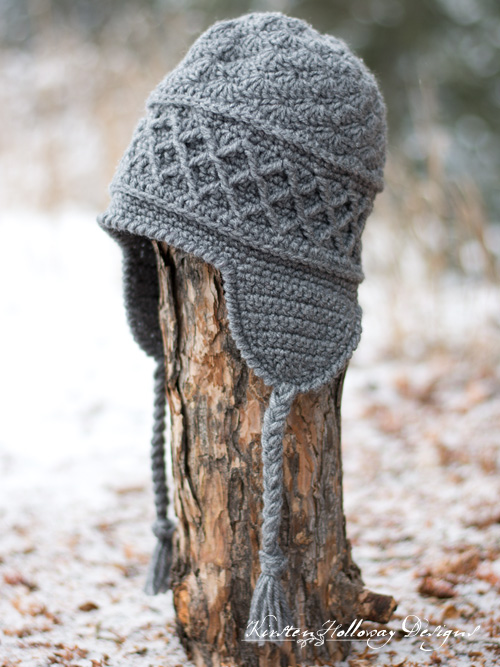 Snow Country Ski Hat, Free Crochet Pattern for Men or Women