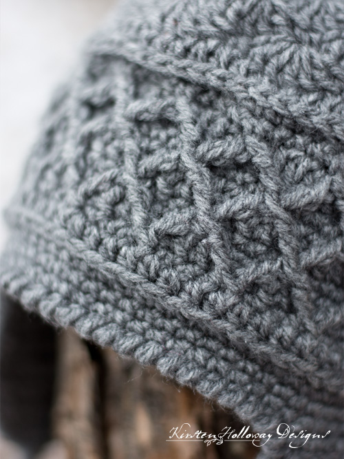 Stay warm and cozy this winter with the awesome Snow Country Ski Hat! The free crochet pattern is written for adult ladies, but can be adjusted by changing hook size.