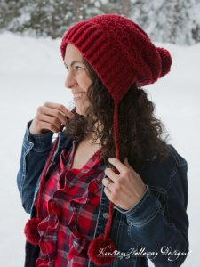 Pattern – Cranberry Twist Slouchy Bonnet