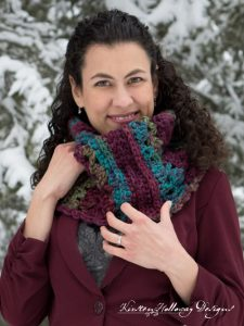 Pattern – Mulberry Lace Chunky Cowl