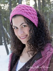 Pattern – Diamond Stitched Headband