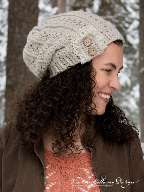 ae257f8a2 Pattern - Primrose and Proper Slouch Hat - Kirsten Holloway Designs