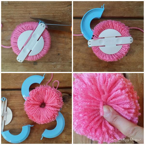 La Vie en Rose pom-pom making part 2