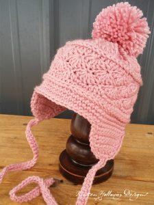 Pattern – La Vie en Rose Earflap Hat