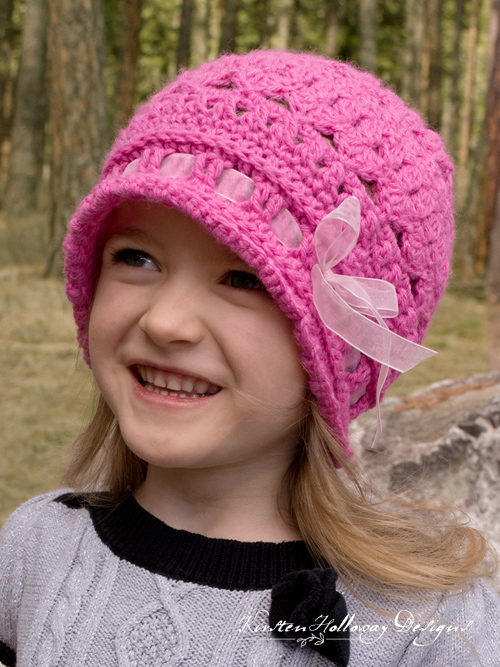 Eden Cloche, child's hat
