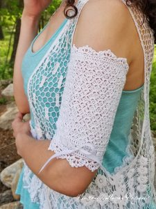 Pattern – Wrapped in Lace PICC Line Cover