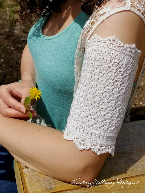 Wrapped in Lace PICC Line Cover