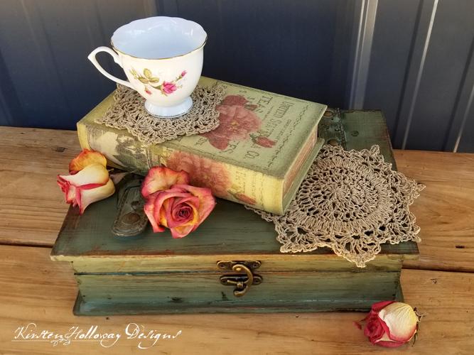 Rustic Elegance Coaster Set
