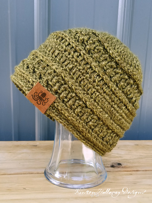 60cc25709ca Wanderlust Beanie Crochet Hat Pattern - Kirsten Holloway Designs