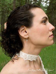 Wrapped in Lace Choker – A Free Wedding Crochet Pattern