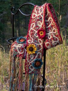 Pattern – Art 'n Soul Scrappy Scarf