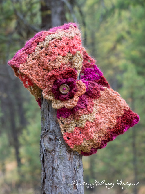 asy, 1 Skein Cowl crochet pattern