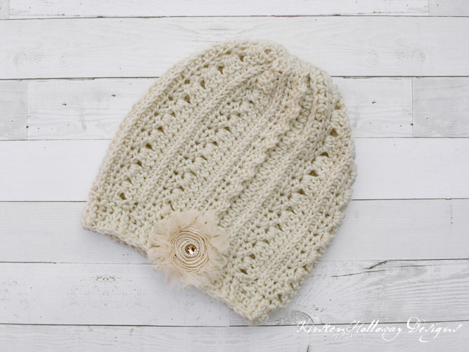 Primrose and Proper Free slouch hat crochet pattern