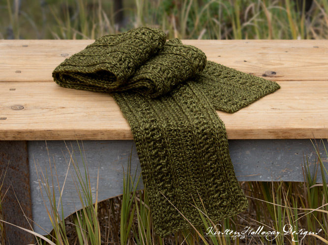 Pattern Wanderlust Scarf Kirsten Holloway Designs