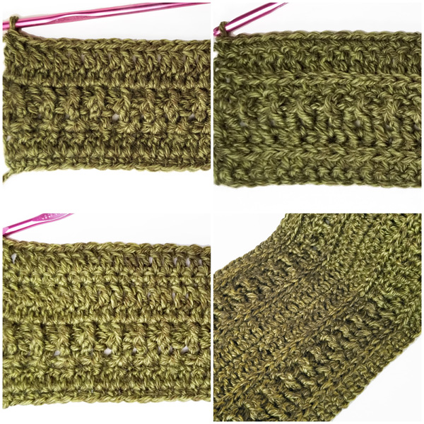 Wanderlust Scarf stitch tutorial part 2