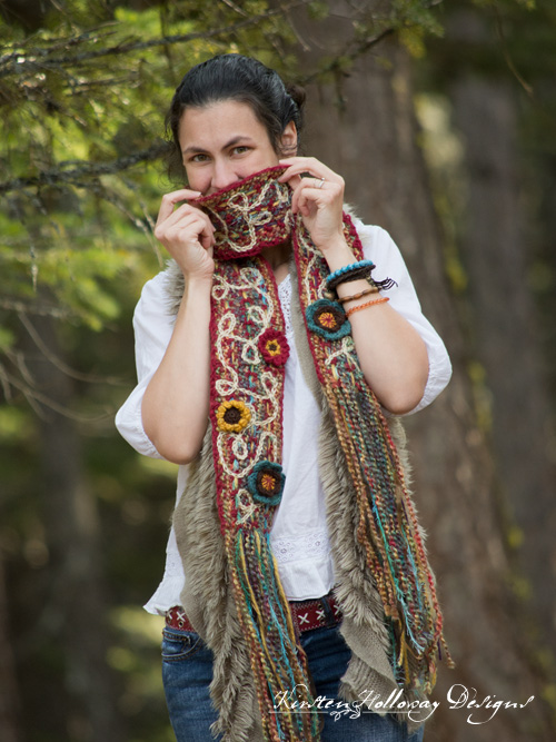 Create a statement scarf that is as unique as you are with this CAL