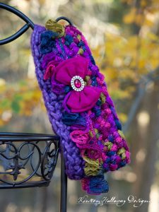 "Pattern – ""Sashay Around"" Easy Crochet Cowl"