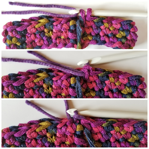 Easy Sashay Around Crochet cowl tutorial