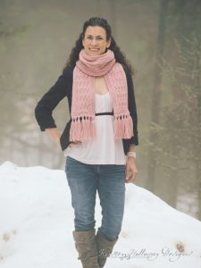 Pattern – La Vie en Rose Ladies Scarf