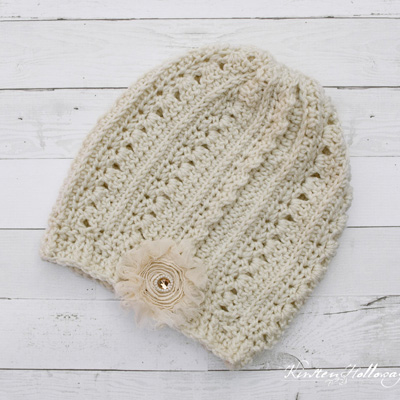 Primrose and Proper Free slouch hat crochet pattern. Via Instagram