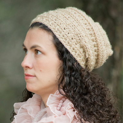 Sugar and Spice and everything nice. This textured ladies slouch hat is perfect for crisp fall days. Buy the pattern on Ravelry for $5. Via Instagram