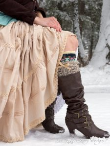 Sugar Maple Boot Cuffs Pattern