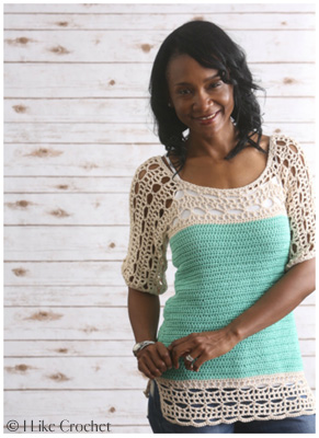 A Year in Crochet from Lorene Eppolite of Cre8tion Crochet Giveaway. Sea Isle Tunic pattern from I Like Crochet
