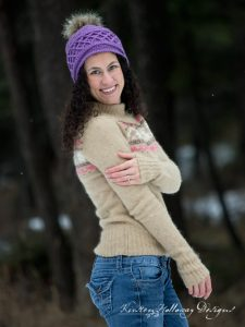 Snow Country Ski Beanie, A Free Unisex Crochet Hat Pattern