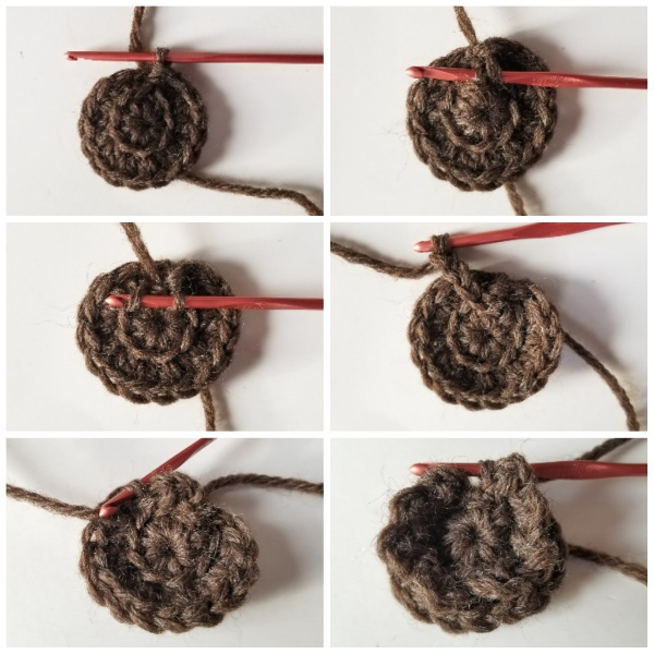 Crochet a beautiful waterlily flower for your headband, following this tutorial.