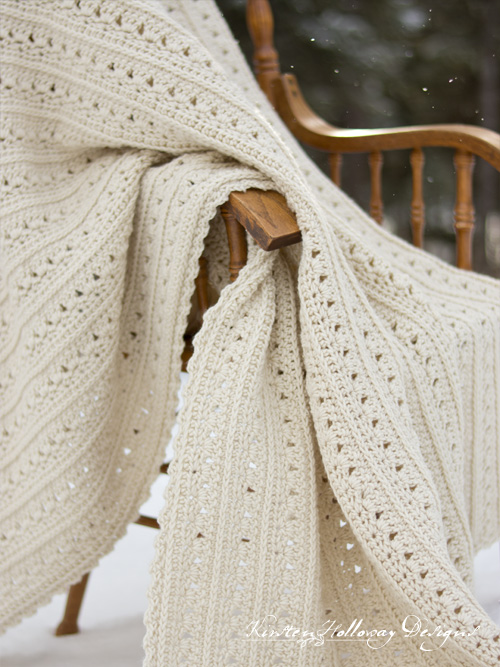 Free, Easy Crochet Blanket Pattern for Beginners: Primrose & Proper Afghan.