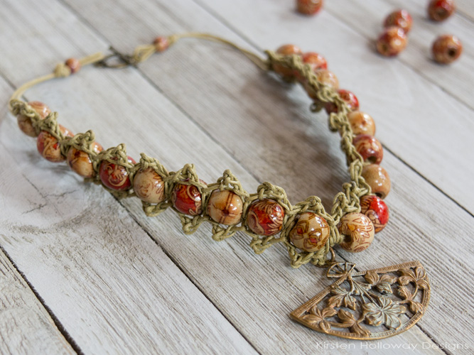 It's easy to incorporate beads into your crochet--especially when making jewelry! The Crochet Hemp Jewelry book by Annie's Crafts is filled with easy summer crochet projects that are quick to make, and perfect for busy crafters.