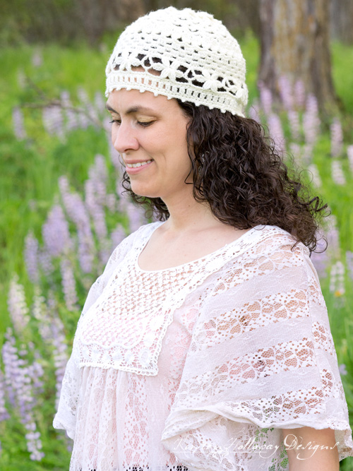 Wildflower Romance A Crochet Lace Summer Hat Pattern Kirsten