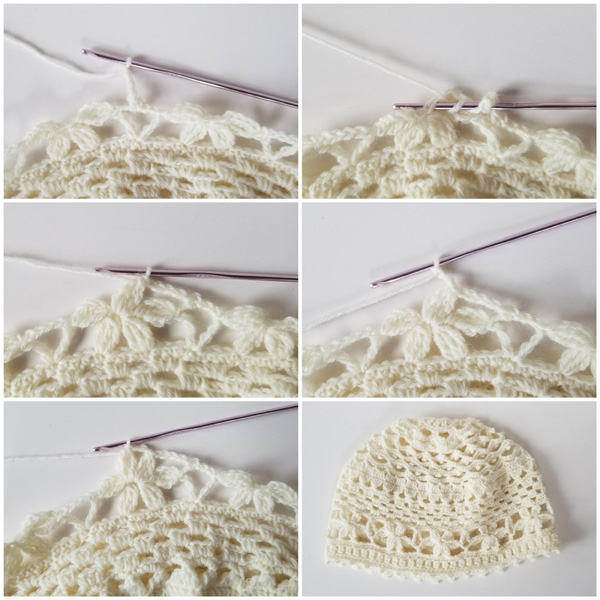 Wild Flower Romance crochet flower stitch tutorial - part 2.