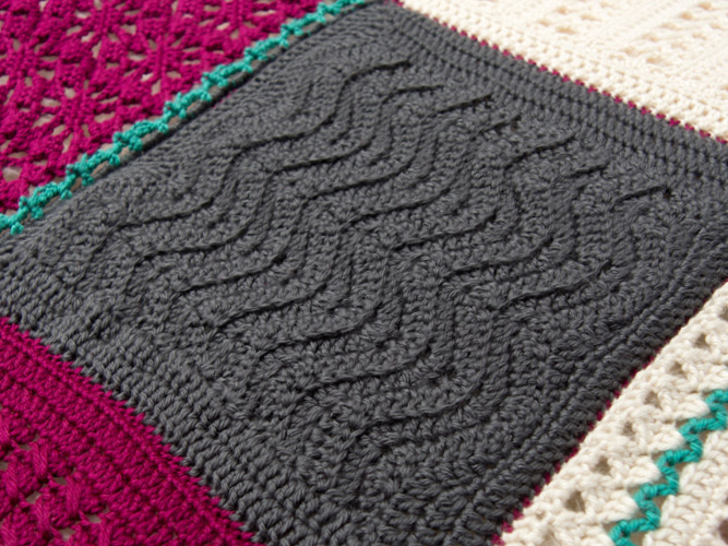 Changing Tides Square - Designed by Kraus Stitch. The changing Tides square celebrates friendships, and new beginnings.