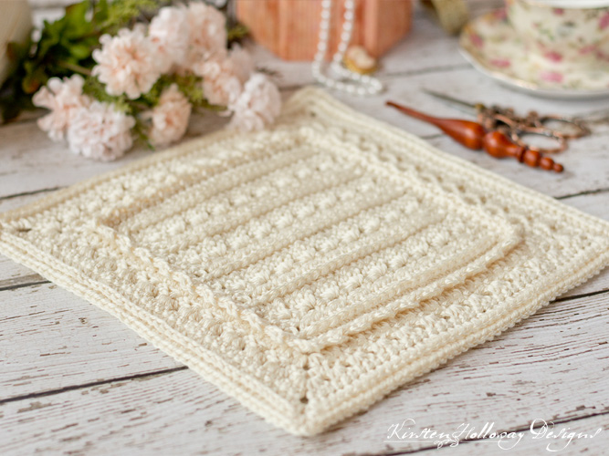 "Crochet a beautiful ""granny"" square with this free crochet pattern. Sew them together to make an afghan."