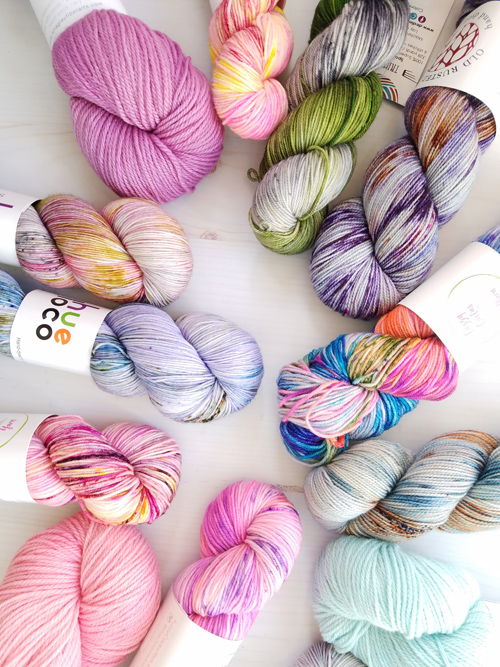 Stash Yarn Club offers beautiful hand dyed indie yarn kits with surprise goodies for crocheters and knitters!
