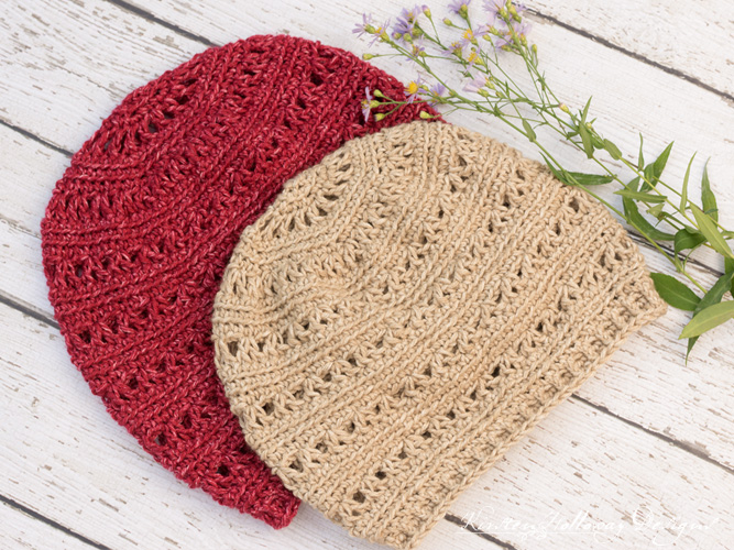 A free slouchy hat pattern easy enough for beginners!