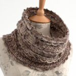 The Layer Cake lace cowl crochet pattern is an easy neck warmer that will fit anyone from kids to adults.