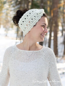 The Primrose & Proper ear warmer is a wide headband meant to keep you warm in winter.