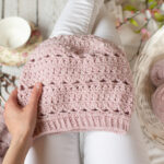 The Secret Garden slouch hat is warm and pretty for winter.