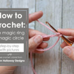 How to crochet the magic ring (magic circle)